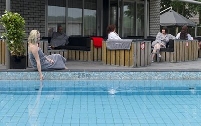 grote foto zwembad
